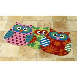 Hanse Home Dětský koberec Sovičky, 40x80 cm - barevné