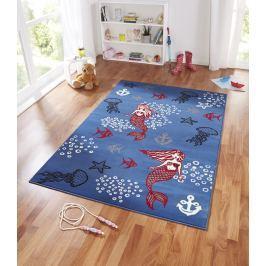 Hanse Home Dětský koberec Mořská pana, 140x200 cm - modrý