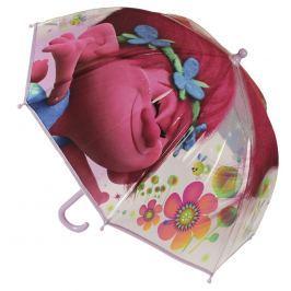 Disney Brand Dívčí deštník Trollové - barevný
