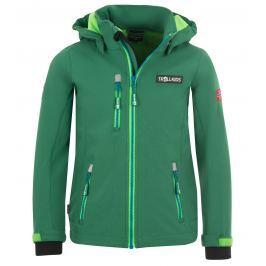 Trollkids Chlapecká softshellová bunda Preikestolen - zelená