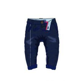 Minoti Chlapecké bavlněné kalhoty - modré