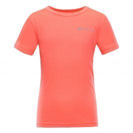 ALPINE PRO Dětské funkční triko Hoto - oranžové