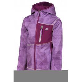 ALPINE PRO Dívčí bunda Jandro - fialová