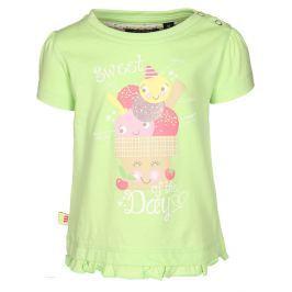 Blue Seven Dívčí tričko Sweet day - světle zelené