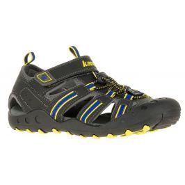 Kamik Chlapecké sandály CRAB - tmavě šedé