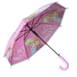 E plus M Dívčí deštník Frozen - růžový