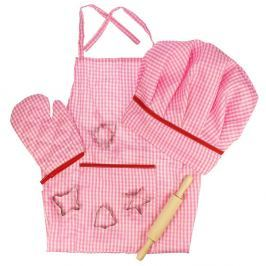 Bigjigs Růžový set šéfkuchařky