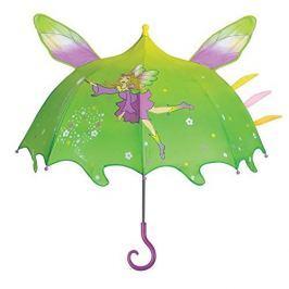 Blooming Brollies Dívčí deštník s kouzelnicí - barevný