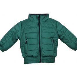 Dirkje Chlapecká prošívaná bunda - zelená