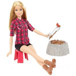 MATTEL Barbie Panenka při ohni blondýnka