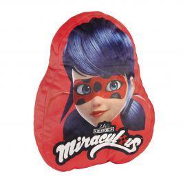 Disney Brand Dívčí polštář Ladybug - červený