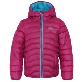 LOAP Dívčí prošívaná bunda Udatel - růžová