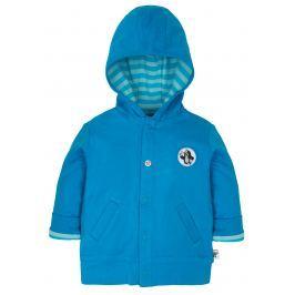 G-mini Chlapecký oboustraný kabátek Krtek a fotbal - modrý