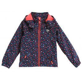Topo Dívčí softshellová bunda se srdíčky - barevná
