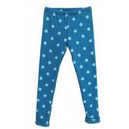 Topo Dívčí zateplené legíny s hvězdičkami - modré