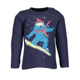 Blue Seven Chlapecké tričko Monster - modré