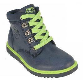Beppi Chlapecké kotníkové boty - modré