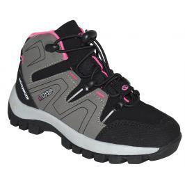 LOAP Dívčí outdoorové boty Tarby - šedo-černé
