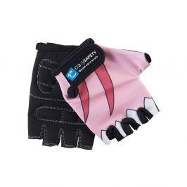 Crazy Safety Rukavice Růžový žralok, velikost S