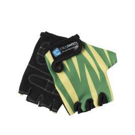 Crazy Safety Rukavice Zelený tygr, velikost S