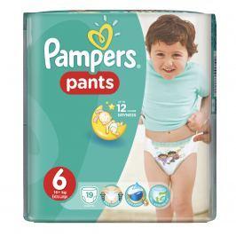 Pampers Pants plenkové kalhotky 6 Extra Large (16-22 kg), 19 ks