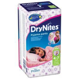 Huggies DryNites kalhotkové pleny pro dívky 4-7 let (17-30kg), 10ks