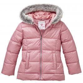 Nickel sportswear Dívčí zateplená bunda - růžová