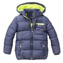 Nickel sportswear Chlapecká zateplená bunda - tmavě modrá