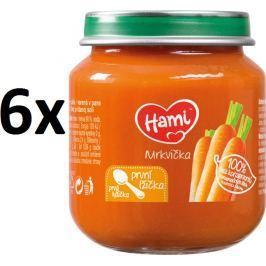 Hami první lžička mrkev 6x125g