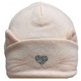 Broel Dívčí čepice Chloe - růžová
