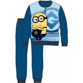 Disney by Arnetta Chlapecké pyžamo Mimoni - tmavě modré