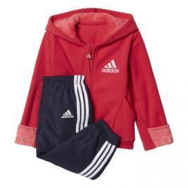 adidas Dívčí tepláková souprava Fun - modro-růžová