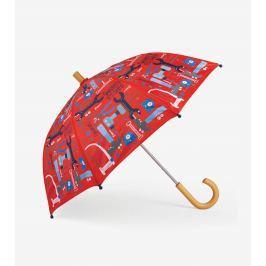Hatley Chlapecký deštník Mr. Fix It - červený