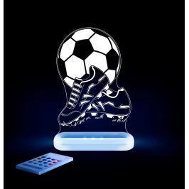 Aloka Noční světýlko Fotbal + ovladač pro volbu barev