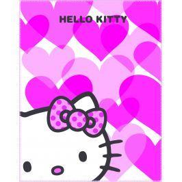 CTI Fleecová deka Hello Kitty Mimi Love Pink 110x140 cm
