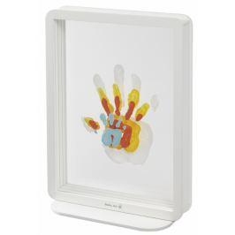 Baby Art Rámeček Superposed Handprints - bílý