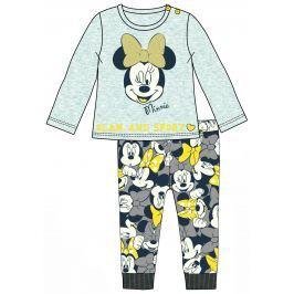 Disney by Arnetta Dívčí set trička a legín Minnie - šedý
