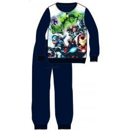 Disney by Arnetta Chlapecké pyžamo Avengers - černé