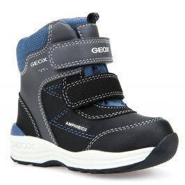 6ea2c187b00 Detail zboží · Geox Chlapecké zimní boty New Gulp - šedo-černé