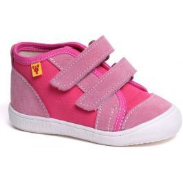 RAK Dívčí kotníkové tenisky Barbora - růžové