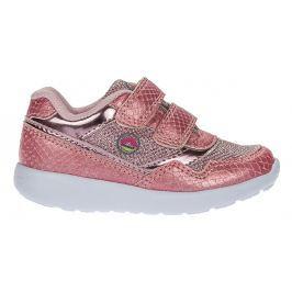 J HAYBER Dívčí vzorované tenisky - růžové