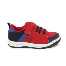J HAYBER Chlapecké tenisky - červeno-modré Ležérní tenisky