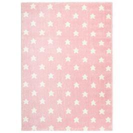 Happy Rugs Dětský koberec růžový s hvězdičkami, 120x180 cm