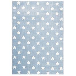 Happy Rugs Dětský koberec modrý s hvězdičkami, 80x150 cm