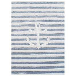 Happy Rugs Dětský koberec pruhovaný s kotvou, 120x180 cm