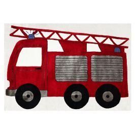 Happy Rugs Dětský koberec hasiči, 120x180 cm