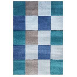 Happy Rugs Dětský koberec kostky - modrý, 120x180 cm