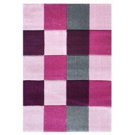 Happy Rugs Dětský koberec kostky - růžový, 160x230 cm