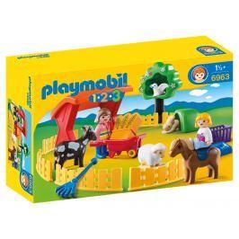 Playmobil 6963 Výběh domácích zvířat (1.2.3)