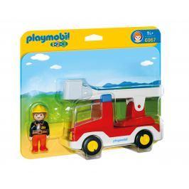 Playmobil 6967 Hasičské auto (1.2.3)